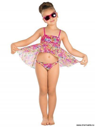 3bb97d028960e Пляжный комплект для девочек (топ+плавки) Charmante GPQ 031602 AF HARRIET