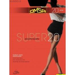 Колготки женские повседневные OMSA Super 20 den XL