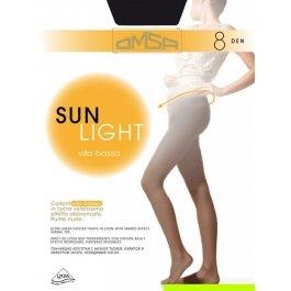 Колготки женские ультратонкие с заниженной талией OMSA Sun Light 8 Vita Bassa