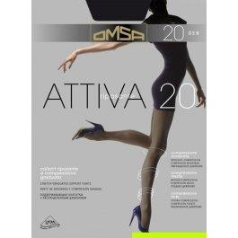 Колготки женские компрессионные OMSA Attiva 20 den