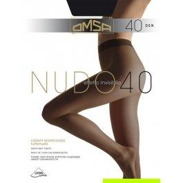 Колготки женские повседневные OMSA Nudo 40 den