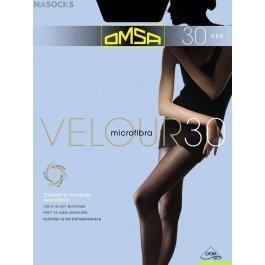 Колготки женские с микрофиброй OMSA Velour 30 den