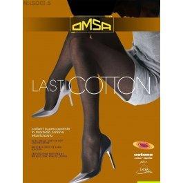 Колготки женские с хлопком OMSA LASTICOTTON XL