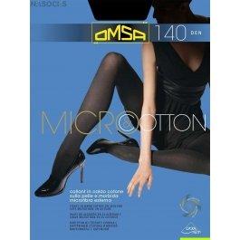Колготки женские с хлопком и микрофиброй OMSA Micro & Cotton 140 den