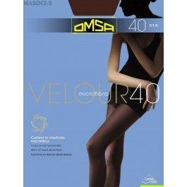 Колготки женские с микрофиброй OMSA Velour 40 den XL