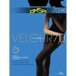 Колготки женские с микрофиброй OMSA Velour 70 den