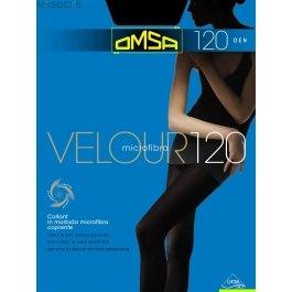 Колготки женские с микрофиброй OMSA Velour 120 den