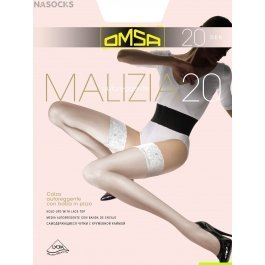 Чулки женские классические OMSA Malizia 20 den