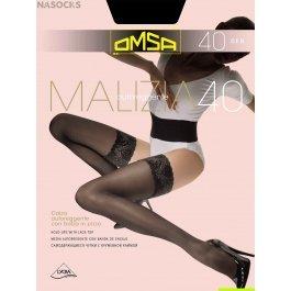 Чулки женские классические OMSA Malizia 40 den