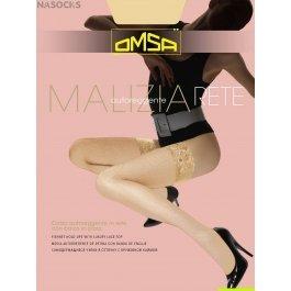 Чулки женские в сеточку OMSA Malizia Rete 40 den