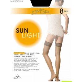 Чулки женские ультра-тонкие OMSA Sun Light 8 den
