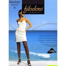 Колготки женские ультра-тонкие Filodoro Absolute Summer 8 den