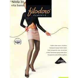 Колготки женские с заниженной талией Filodoro Ninfa 20 den Vita Bassa