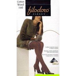 Колготки женские с хлопком и шерстью Filodoro Cotton Wool 160 den