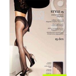 Колготки женские супер-тонкие Sisi Style 15 den