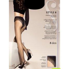 Колготки женские ультра-тонкие Sisi Style 8 den