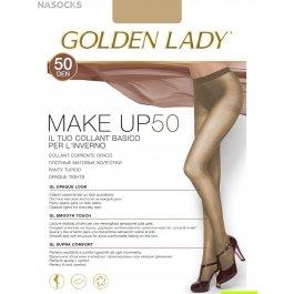 Колготки женские полиамидные, матовые Golden Lady Make Up 50 den