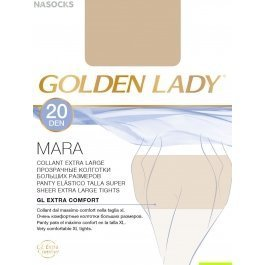 Колготки женские полиамидные, повседневные Golden Lady Mara 20 den XL