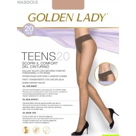 Колготки женские с заниженной талией Golden Lady Teens 20 den Vita Bassa