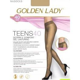 Колготки женские полиамидные, повседневные Golden Lady Leda 20 den