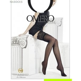 Чулки женские с эффектом тюля Omero Intrigante Tulle Autoreggente