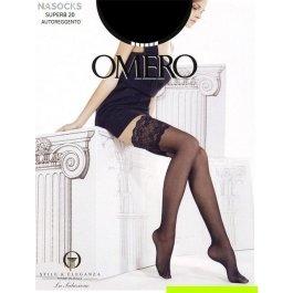 Чулки женские классические Omero Superb 20 den Autoreggente