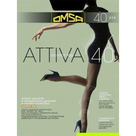 Колготки женские компрессионные, моделирующие OMSA Attiva 40 den Control Top