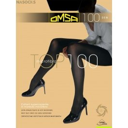 Колготки женские с микрофиброй OMSA Top 100 den