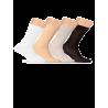 Носки мужские однотонные, мерсеризованный хлопок Lorenz М1 - 3
