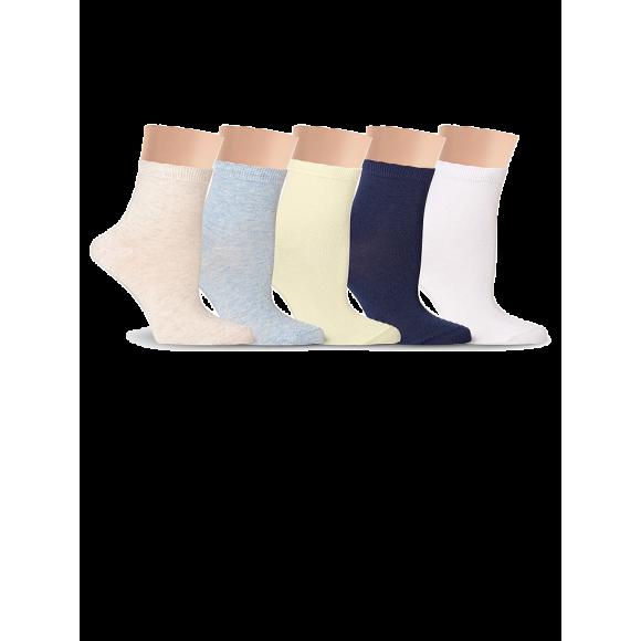 Купить Носки женские однотонные, разноцветные Lorenz Д5