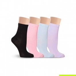 Носки женские однотонные, разноцветные Lorenz Д5
