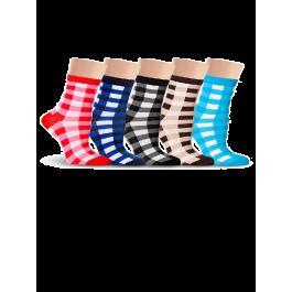 Купить Носки женские разноцветные, в клеточку Lorenz Д23