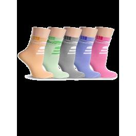 Носки женские разноцветные, с рисунком Lorenz Д24