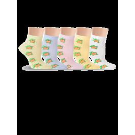 Носки детские для девочек, с яблочком Lorenz П3