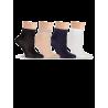 Носки детские для школы, однотонные Lorenz Л33 - 4