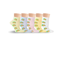 Носки детские для девочек, с яблочком Lorenz Л44