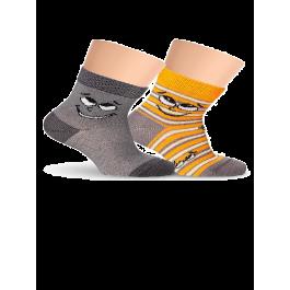 Носки детские для малышей, со смайликом Lorenz Л38