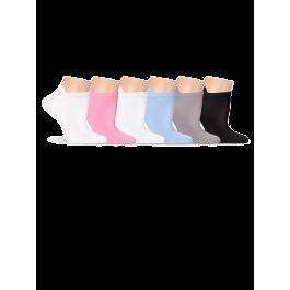 Купить Носки женские короткие, для спорта, с махрой по следу Lorenz С7М