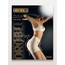 """Колготки женские моделирующие, с """"Бразильским эффектом"""" Oroblu Shock Up Light 20 den"""