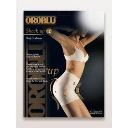 Купить Колготки женские моделирующие, с «Бразильским эффектом» Oroblu Shock Up 40 den