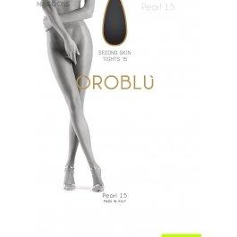 """Колготки женские с эффектом """"второй кожи"""" Oroblu Pearl 15 den"""