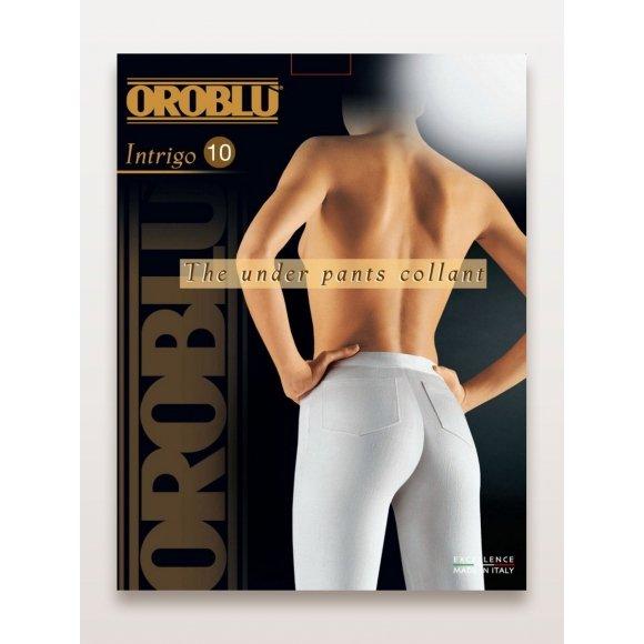 Купить Колготки женские супер-тонкие, с регулируемой талией Oroblu Intrigo 10 den