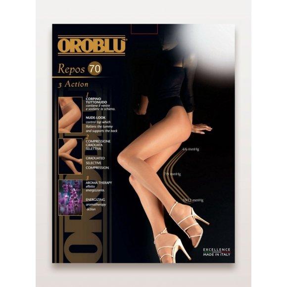 Купить Колготки женские компрессионные, ароматизированные Oroblu Repos 70 den