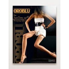 Чулки женские ультра-тонкие, с эффектом загара Oroblu Bas Suntime Up