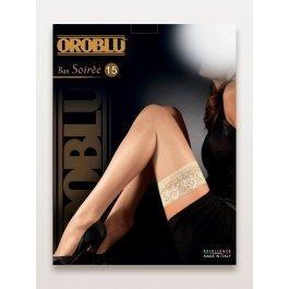 Чулки женские супер-тонкие Oroblu Bas Soiree 15 den