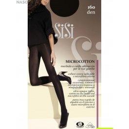 Колготки женские с хлопком и микрофиброй, парфюмированные Sisi Micro Cotton 160 den