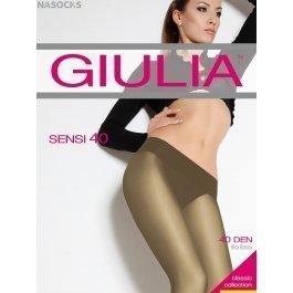 Колготки женские полупрозрачные, с заниженной талией Giulia Sensi 40 den Vita Bassa