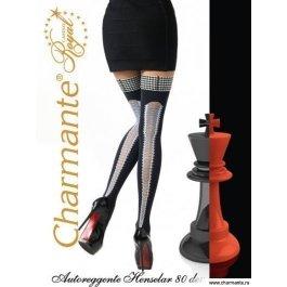 Чулки Charmante HENSELAR aut. 80 женские с имитацией шнуровки