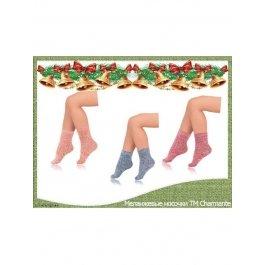 Купить Подарочный набор из 12 пар меланжевых теплых носочков ТМ Charmante