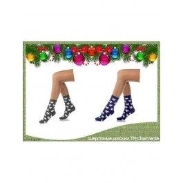 Подарочный набор из 10 пар шерстяных носочков для девочки ТМ Charmante